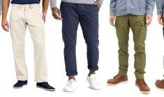 Various branded 'Blue Blood' men chino and cargo pants