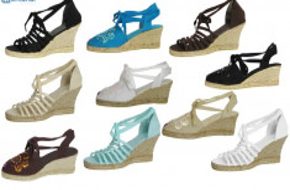 espadrilles gebonden sleehak schoenen damesschoenen 36-41