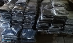 Wholesale lot of 540 pcs used laptops C2Duo.