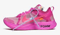 Nike Off White x Zoom fly pink AJ4588-600