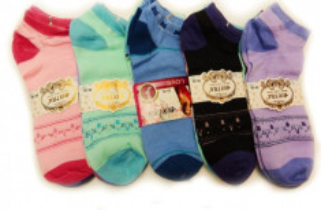 Women ankle socks/ invisible socks - Various models Bixtra