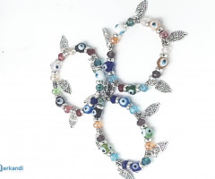 LUCKY EYE TURKISH glass bracelet - 12 x 1 €