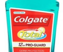 Colgate Total Green 500 ml  - płyn do płukania jamy ustnej