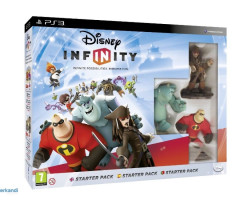 GRA DISNEY INFINITY 1.0 STARTER PACK GRY PS3 PS 3