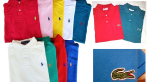 Wholesale offers Poloshirt brands Ralph Lauren, Boss, Guess, Lacoste,....