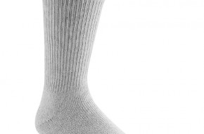 Grey men socks crew / sportsocks