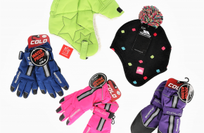 Czapki, szaliki i rękawiczki dla dzieci- Stock Clerance