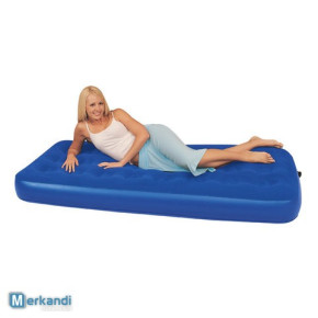 Bestway nadmuchiwany materac Flocked Air Bed (Single)