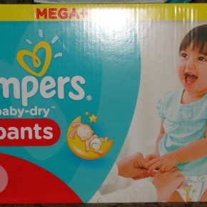 PAMPERS rozm 5 i 4