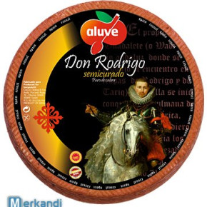 Don Rodrigo D.O.C. Manchego Spanish Cured Sheep Cheese - Aluve