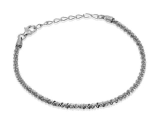 Bransoletka Twinkle Chain 18,5 cm - Srebro 925 Made in Italy