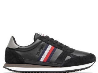 BUTY TOMMY HILFIGER RUNNER LO LEATHER STRIPES