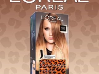L'OREAL COLORATION MUCHAS CALIFORNIANAS BLOND DO CIEMNYCH BLONDÓW